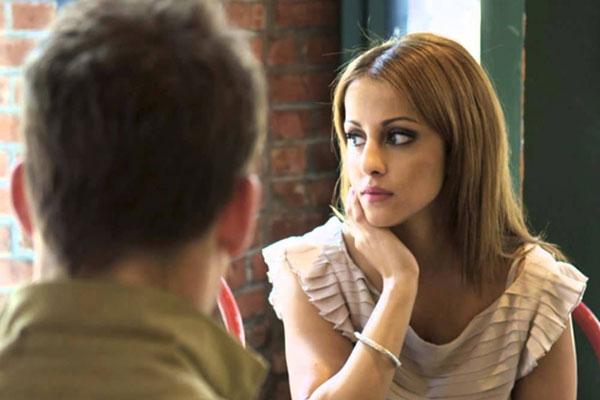 conversando com a ex namorada